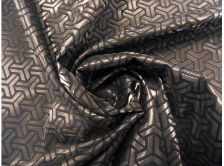 Żakard Sorella czarne zygzaki