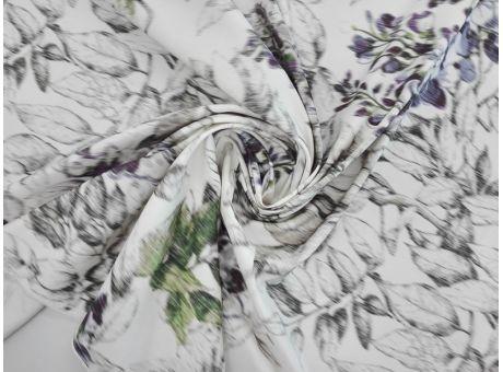 Jedwab sygnowany - Ortalion Giambattista Valli
