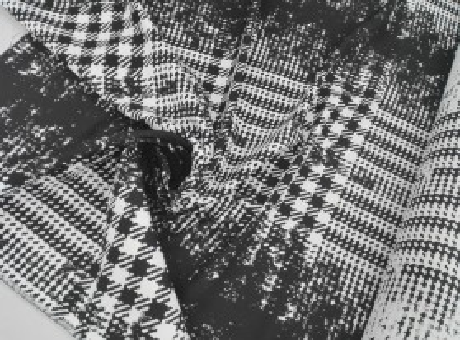 Żakard Sorella - Klasyczna kratka/pepitka