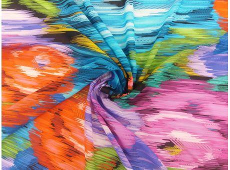 Jedwab sygnowany malowany print