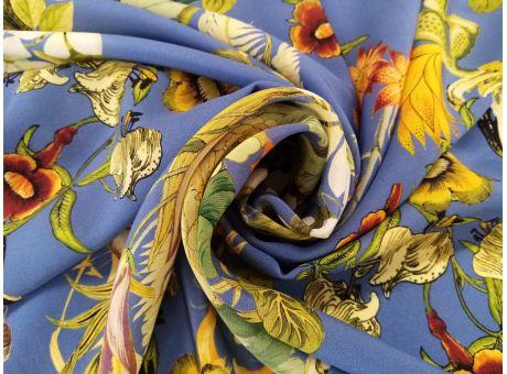 Jedwab Sygnowany - Kwiatowe Wzory