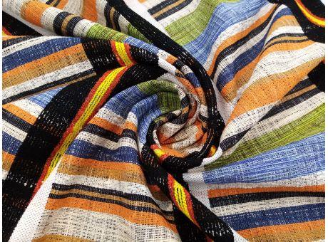 Bawełna Chanelka - Kolorowe Paski