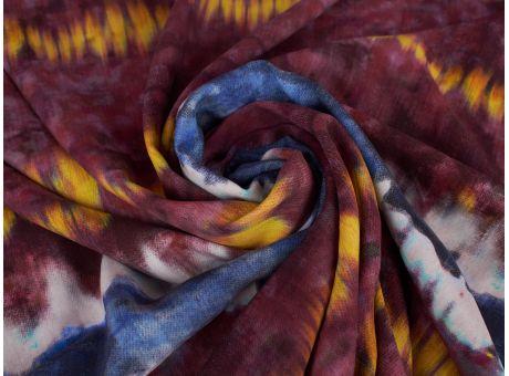 Jedwab Sygnowany - Efekt Tie Dye - 4 Kolory!