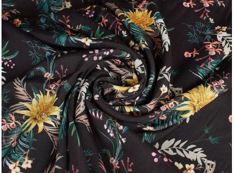 Wiskoza & Rayon - Marco - Tropikalne Kwiaty