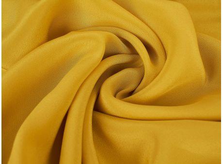 Jedwab gładki Krepdeshine - Żółty