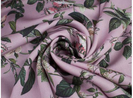 Wiskoza Lux - Róże I Motyle