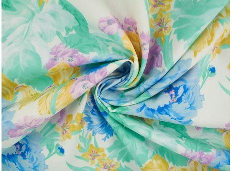 Bawełna Malon - Pastelowe Kwiaty