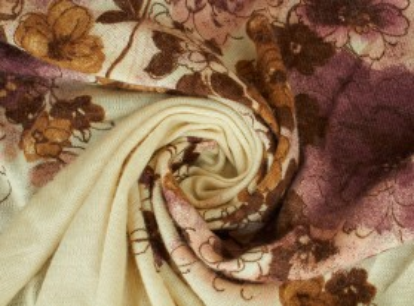 Swetrówka Irvin kwiaty na kremie raport