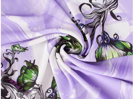 Polisorella - Fioletowy raport w stylu Versace